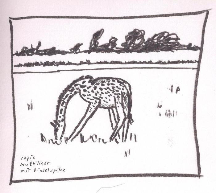 giraffe #5b day #6of75