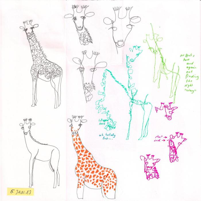 giraffe #6 blinds-and-oneliner
