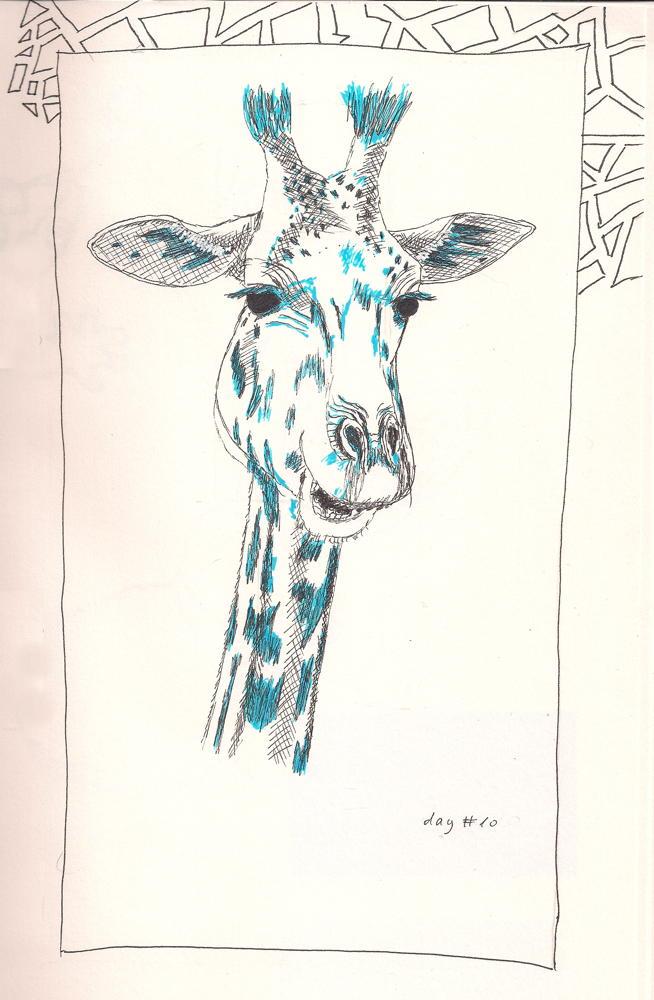 giraffe #9