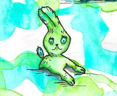 resting rabbit 20-9-13