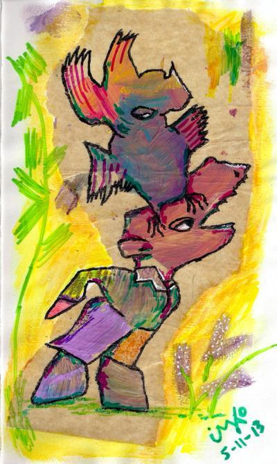 5-11-13 kakadu on the head