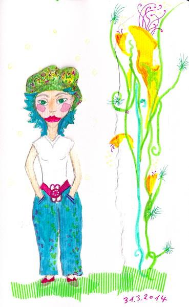 2014-03-31 green-hat paperdoll