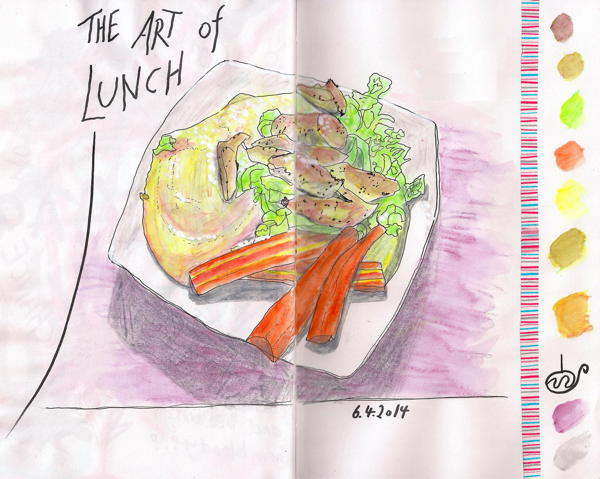2014-04-06 art of lunch