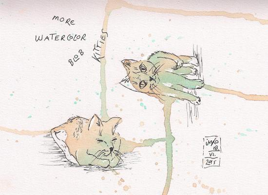 20150618 watercolor blob kittiesblob kitties 75dpi